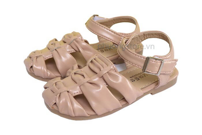 Giày sandal rọ bé gái dễ thương từ 3 - 7 tuổi