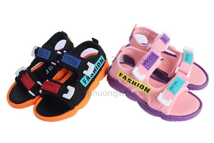Giày sandal Hàn Quốc năng động cho bé từ 3 - 10 tuổi