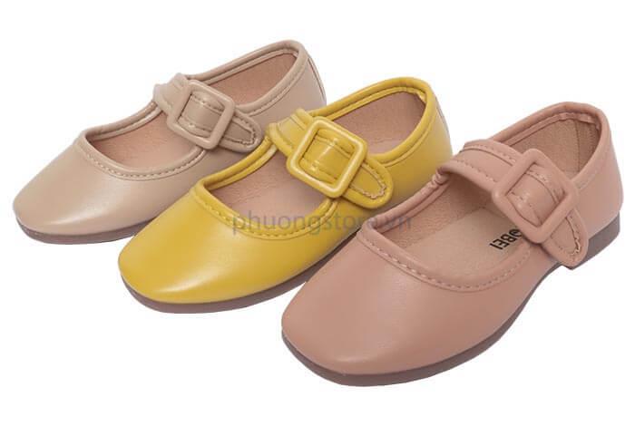 Giày búp bê Hàn Quốc siêu mềm cho bé gái từ 2 - 6 tuổi