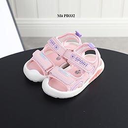 Dép sandal bé gái dễ thương đế dẻo từ 1-3 tuổi