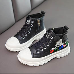 Giày bốt thể thao trẻ em từ 3-12 tuổi phong cách Hàn Quốc