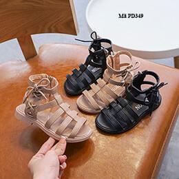 Dép sandal chiến binh cho bé gái từ 3 - 12 tuổi  da mềm, cá tính