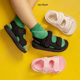 Dép sandal trẻ em trai, gái Cheerful Mario cho bé từ 1 - 10 tuổi