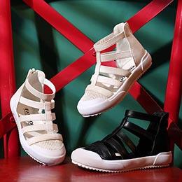 Giày chiến binh Hàn Quốc xinh xắn cho trẻ em gái từ 3 - 11 tuổi