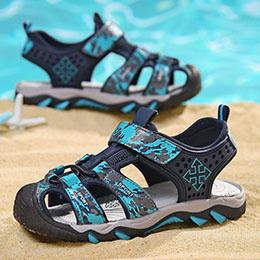 Giày sandal trẻ em trai bít mũi cao cấp nhập khẩu từ 3-12 tuổi