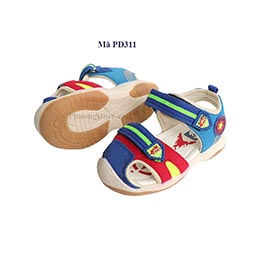 Giày sandal cho bé trai có đèn nhập khẩu từ 1 - 2 - 3 tuổi