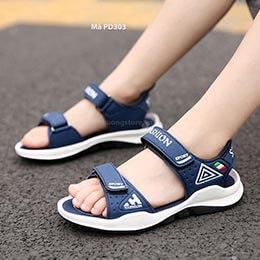 Giày sandal nhập khẩu cao cấp cho trẻ em trai từ 5 - 15 tuổi