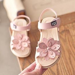 Giày sandal nơ phong cách Hàn Quốc cho bé gái từ 2 - 12 tuổi