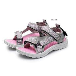 Giày sandal nữ đi học Apakowa màu hồng cho bé gái từ 4 - 10 tuổi