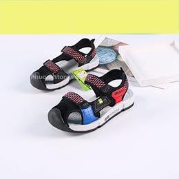 Dép sandal rọ trẻ em nam cao cấp Hàn Quốc cho bé trai từ 7 - 13 tuổi