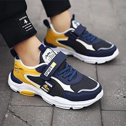 Giày bé trai từ 3-12 tuổi kiểu thể thao siêu nhẹ phong cách Hàn Quốc