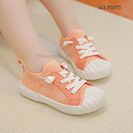Giày trẻ em gái từ 2-8 tuổi  kiểu thể thao cổ chun năng động, khở khoắn