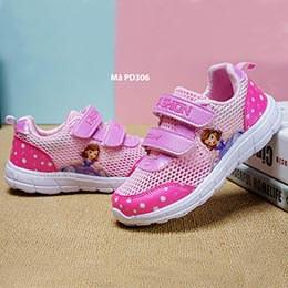 Giày dép trẻ em Hàn Quốc kiểu thể thao công chúa 3 - 12 tuổi