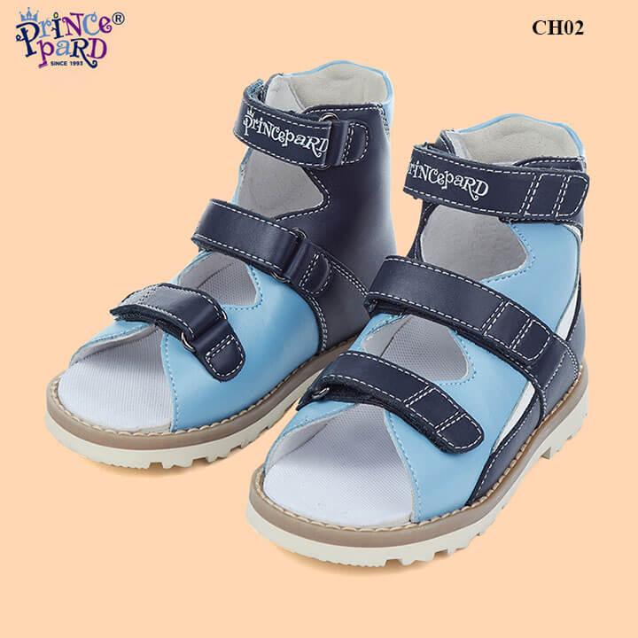 Giày chỉnh hình y khoa trẻ em cổ cao chính hãng Prince Pard