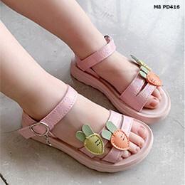 Giày sandal cho bé gái phong cách Hàn Quốc từ 1-12 tuổi dễ thương