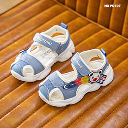 Giày sandal cho bé trai, bé gái từ 1-3 tuổi phong cách Hàn Quốc