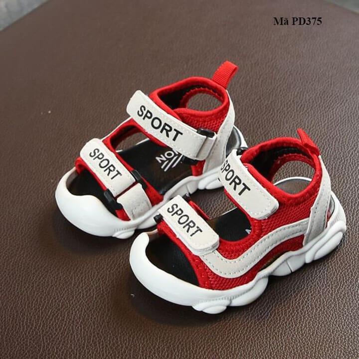 Dép sandal cho bé trai từ 0-3 tuổi mềm êm