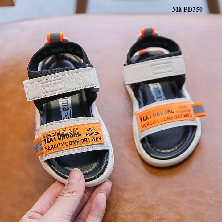 Giày sandal cho bé trai từ 1-6 tuổi phong cách Hàn Quốc