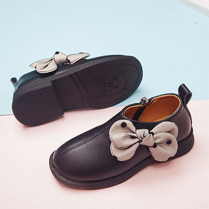Giày boot cho bé gái cổ thấp sành điệu từ 2 - 12 tuổi