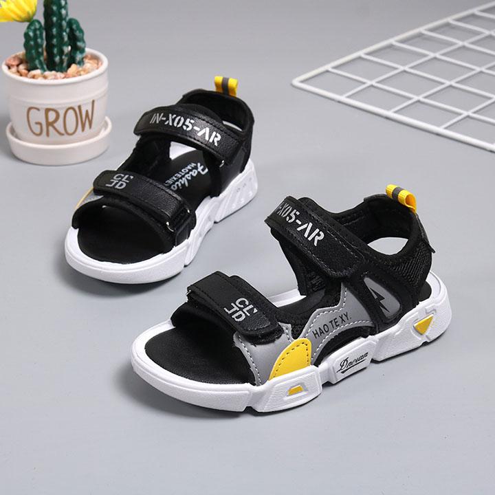 Giày sandal bé trai đi học đế mềm từ 3 - 12 tuổi