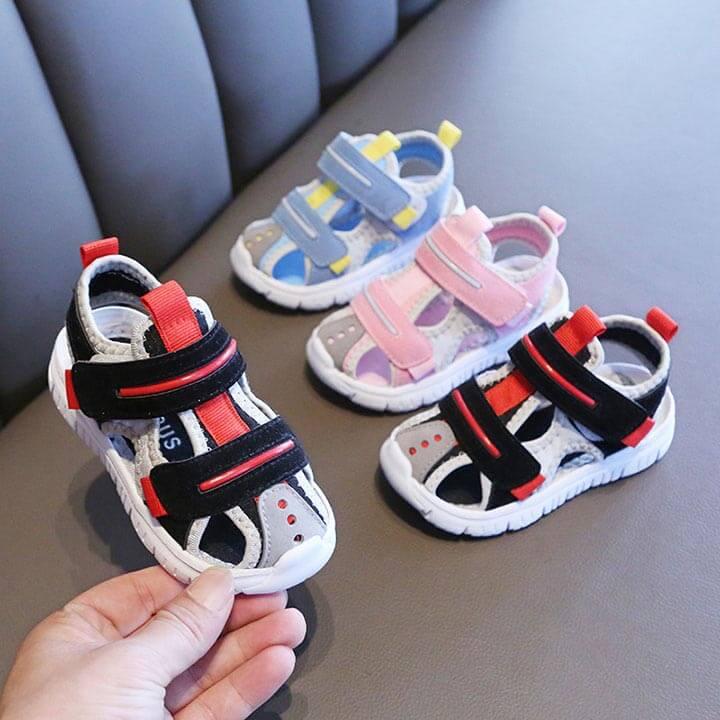 Giày sandal bít mũi cho bé trai siêu mềm êm từ 1 - 4 tuổi