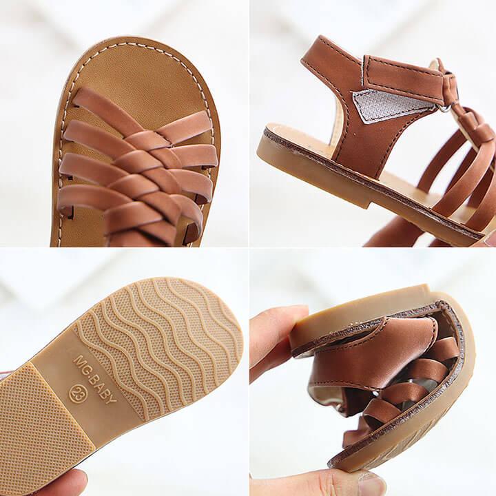 Giày sandal cho bé gái phong cách Hàn Quốc cho bé từ 1 - 6 tuổi