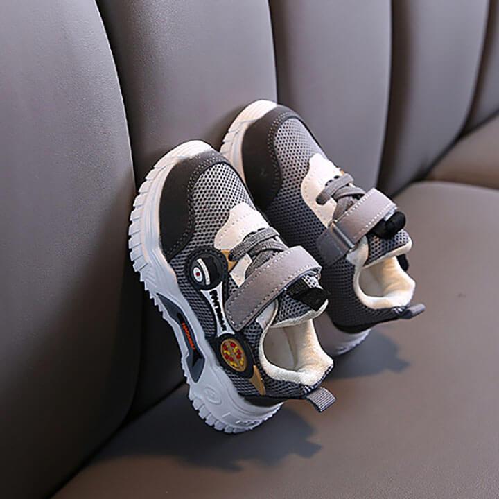 Giày thể thao cho bé trai từ 1 - 5 tuổi siêu nhẹ phong cách Hàn Quốc