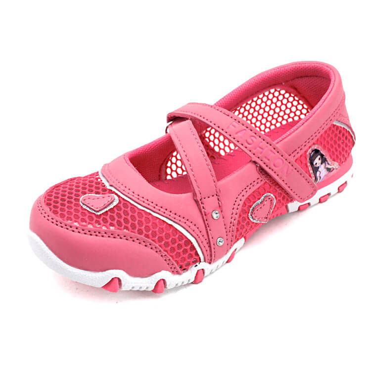 Giày búp bê cho bé gái dạng lưới cao cấp từ 3 - 12 tuổi