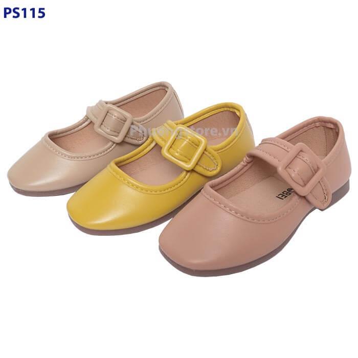 Giày búp bê nữ cho bé gái phong cách Hàn Quốc siêu mềm từ 2 - 6 tuổi