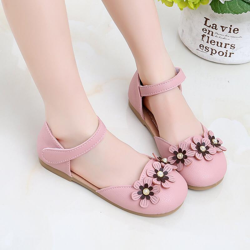 Giày búp bê bé gái phiên bản Hàn Quốc từ 3-11 tuổi