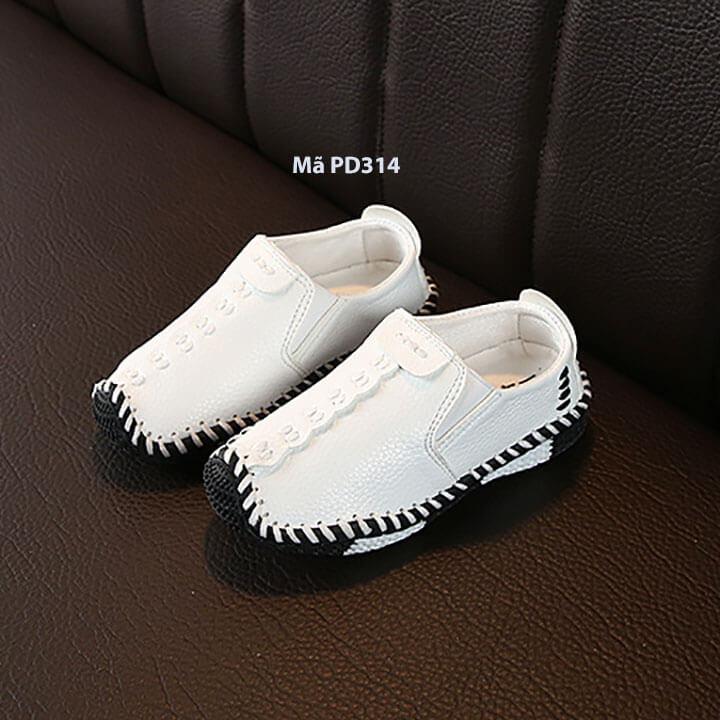 Giày lười cho bé trai phong cách Hàn Quốc từ 2 - 5 tuổi