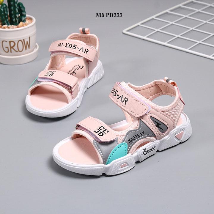 Giày sandal bé gái đi học đế mềm từ 3 - 12 tuổi