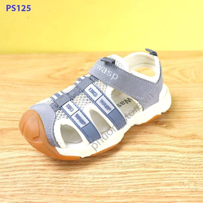 Giày sandal rọ cho bé trai cao cấp từ 3 - 7 tuổi quai dán xuất khẩu