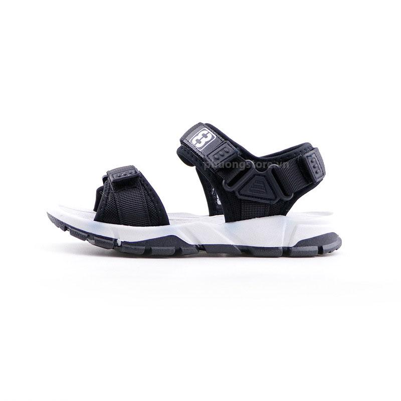 Giày dép trẻ em sandal nam màu đen trắng xuất khẩu bé trai 6 - 12 tuổi