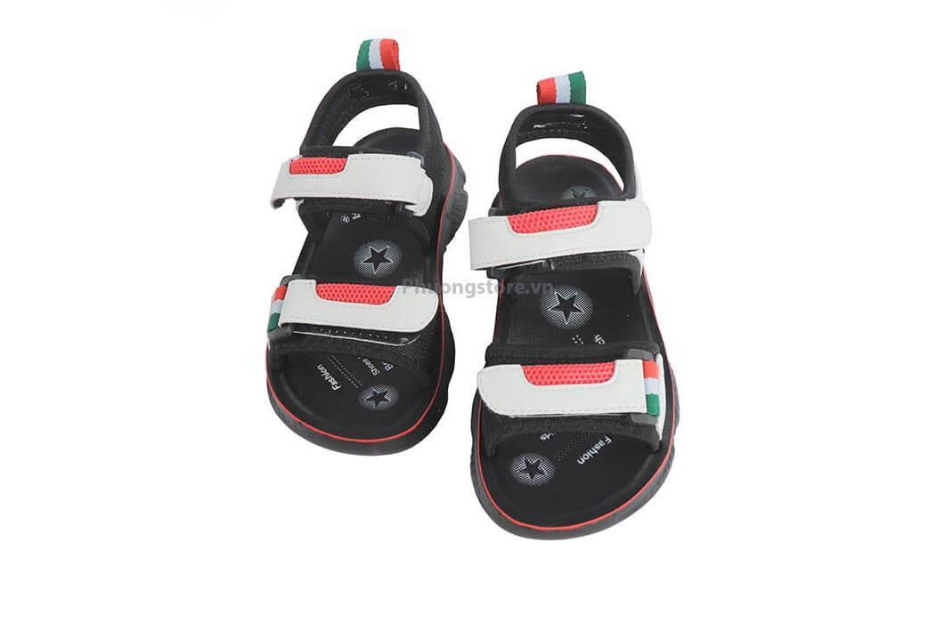Giày sandal đế dẻo cho bé trai 3 - 7 tuổi PS131