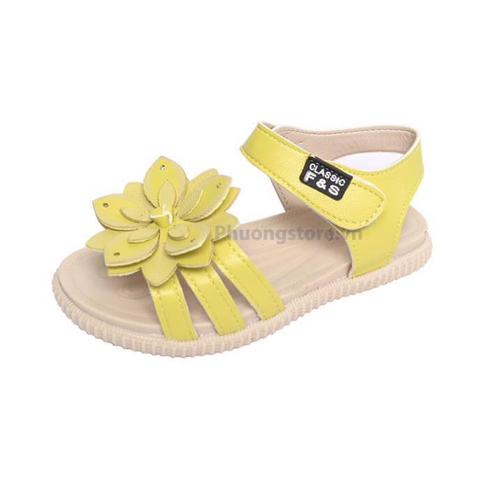 Giày cho trẻ em nữ nơ hoa bé gái từ 2, 3 tuổi đến 10, 11, 12 tuổi