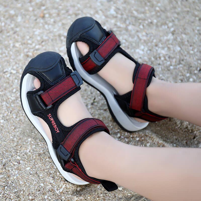 Giày sandal rọ bít mũi cao cấp cho bé trai từ 3 - 15 tuổi