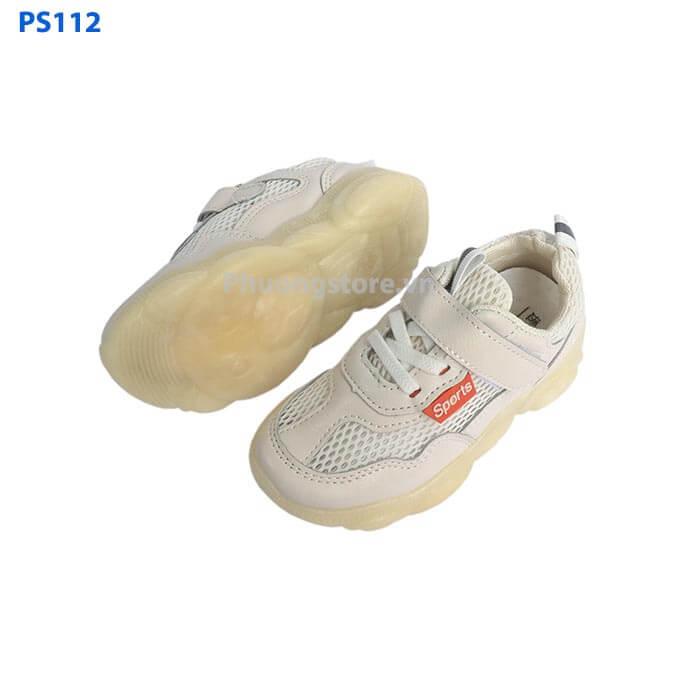 Giày trẻ em xuất khẩu cho bé trai, bé gái 3 - 12 tuổi dạng thể thao lưới