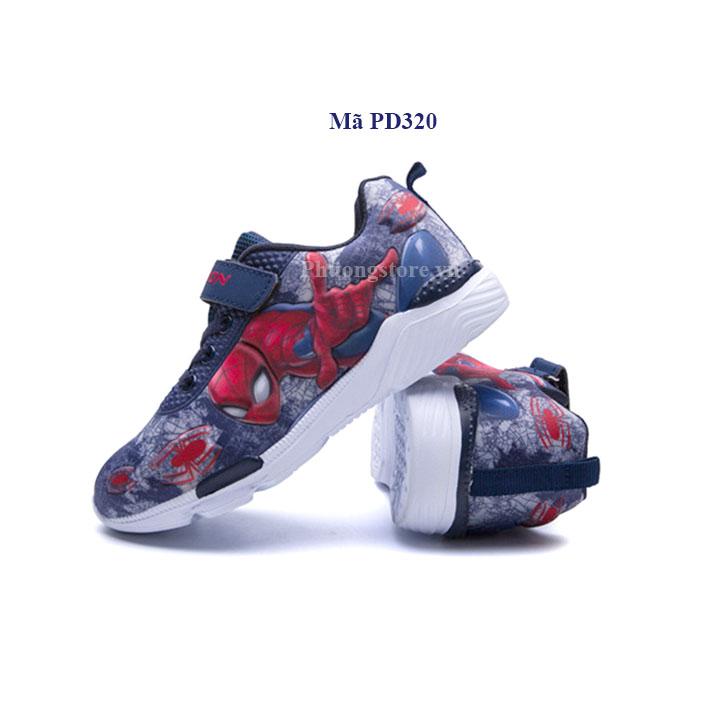 Giày thể thao siêu nhân 3D cho bé trai từ 2 - 6 tuổi