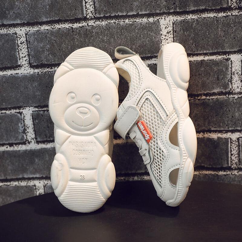 Giày thể thao trẻ em dành cho bé trai, bé gái từ 3 -12 tuổi màu trắng