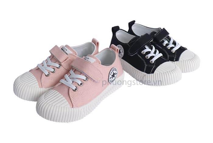 Giày thể thao vải trẻ em nữ năng động từ 3 - 7 tuổi