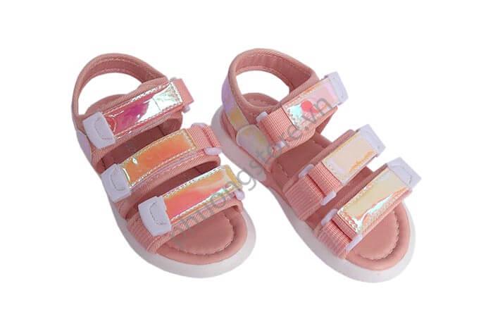 Giày trẻ em nữ quai sáng lấp lánh từ 3 - 7 tuổi