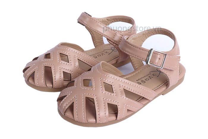 Giày trẻ em nữ kiểu búp bê dạng rọ cho bé gái từ 3 - 12 tuổi