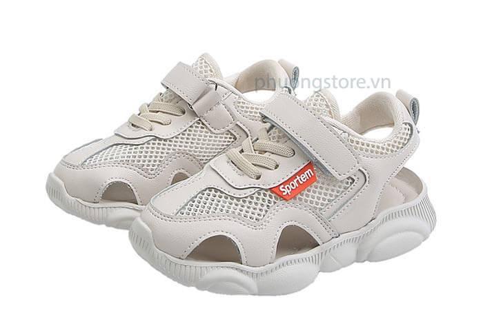 Giày thể thao hở nhập khẩu siêu nhẹ cho trẻ em nam từ 3 - 12 tuổi