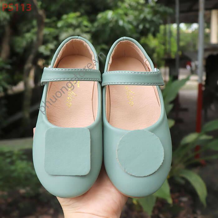 Giày búp bê trẻ em cho bé gái từ 3 - 7 tuổi đơn giản đầy tinh tế