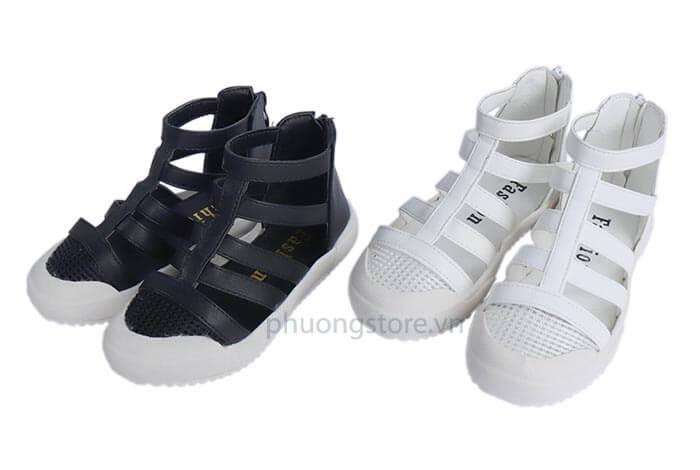 Giày sandal chiến binh xuất khẩu cá tính cho trẻ em nữ từ 4 - 11 tuổi