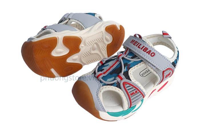 Giày sandal cho bé trai kiểu rọ cá tính từ 3 - 7 tuổi