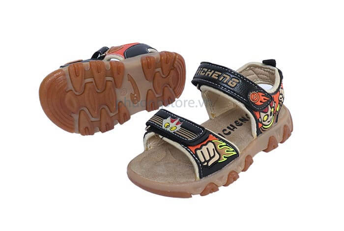 Giày trẻ em nam sandal đèn led phát sáng từ 3 - 7 tuổi TPHCM
