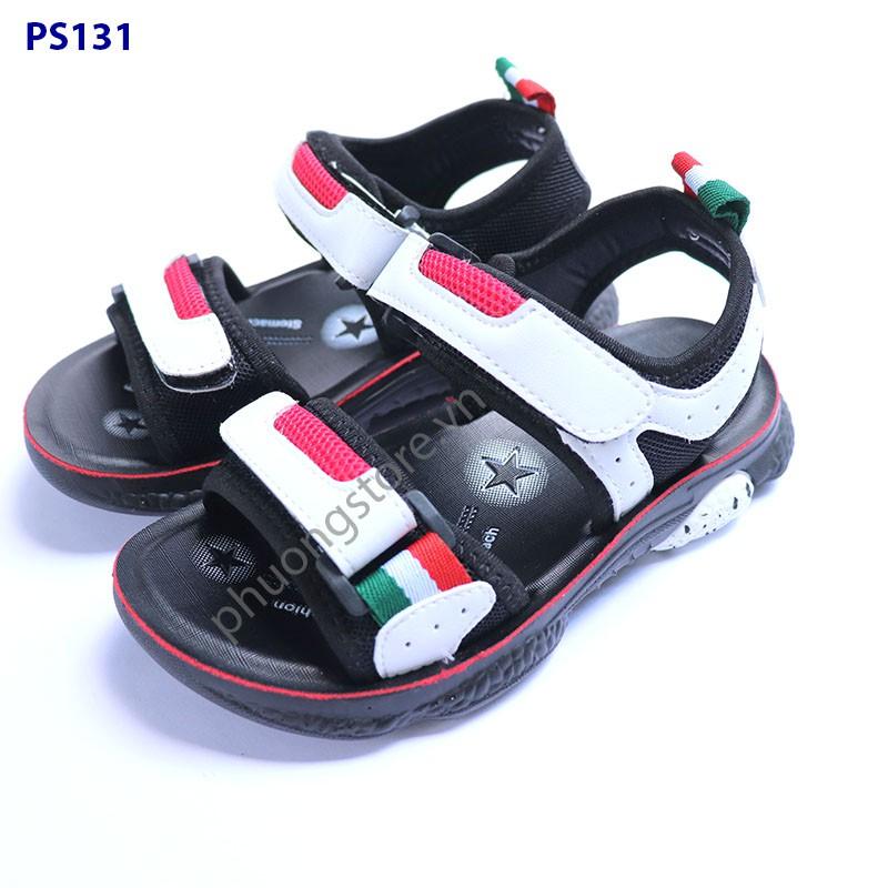 Giày sandal bé trai xuất khẩu cho trẻ em từ 3 - 7 tuổi đi học, đi chơi
