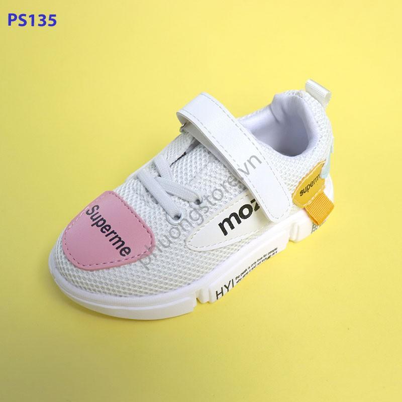 Giày thể thao bé gái 2 - 7 tuổi phong cách Hàn Quốc